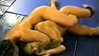 Fit Mummies Nude Grappling