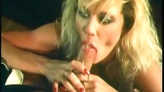Ginger Lynn gives a superb blowage