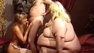 fat women and beauty with oldy