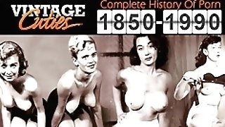Gorgeous Stripper Gives A Hot Striptease (1950s Antique)