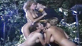 Cavalry Officer - Forest Ass-fuck Four-way