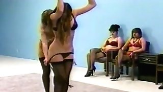 Female Dominance Whipping In Undergarments (brassiere And Fullback Pantys)