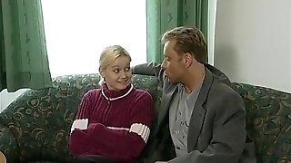 Blonde Retro Teenager Street Casting Interview - What Series Is This From?