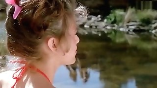 Sherilyn Fenn - Bare-breasted In Public, Sexy In Swimsuit - The Wraith (1986)