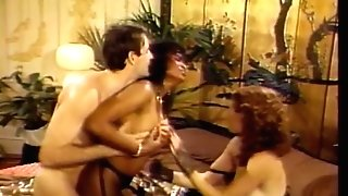 Black broad and red-haired have wild threesome