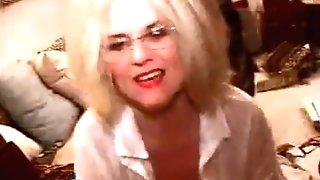 Miss Hairy Mischievous Granny Schoolteacher Zoe Zane