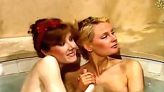 Jacuzzi Joy With Helene Shirley And Her Gf